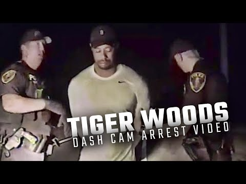 Watch full dashcam video of Tiger Woods DUI arrest released by Jupiter Police