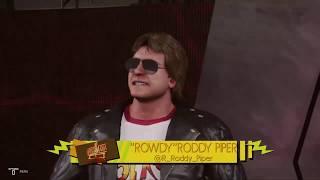 Wrestlemania Rewind : Wrestlemania 12 Hollywood Backlot Brawl Goldust vs. Roddy Piper