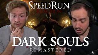 Wie KRASS ist dieser SPEEDRUN?!   Dark Souls mit Maxim (Reaction)   Any% Speedrun