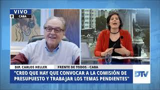 03-09-2020 - Heller en DTV - El Periodismo en el Congreso, con Karin Cohen #AporteExtraordinario