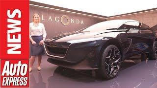 Lagonda All-Terrain concept – Aston's electric answer to the Cullinan
