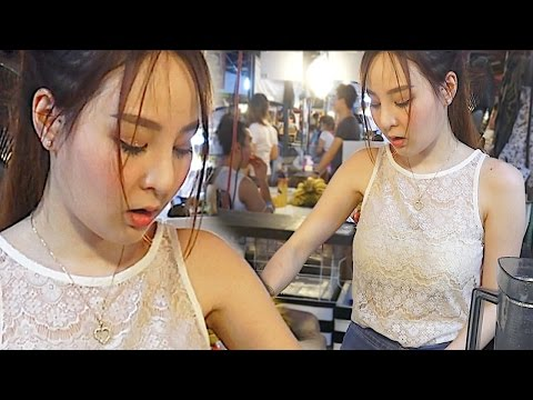 Angel's Melon Smoothie - Night Life with Beautiful Girl | Street Food