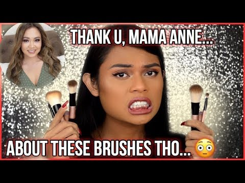 ANNE CLUTZ TRAVEL BRUSHES REVIEW!!! SHOULD YOU BUY THIS MGA CUUURLS?! WATCH THIS NOW!!!