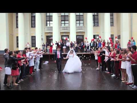 Видео: ЛУЧШИЙ СВАДЕБНЫЙ ФЛЕШМОБ WEDDING DANCE RUSSIA, Сергиев Посад, 2014