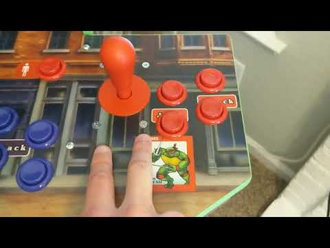 Arcade1Up TMNT Mod - Industrias Lorenzo / Suzo Happ Controls! from Game On!