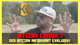 Bitcoin crash? ► Der Bitcoin Informant ✚ INSIDER INTERVIEW (Crypto news, BTC, BCH...)