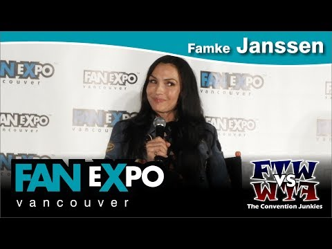 Famke Janssen XMen, Hemlock Grove, Taken   Expo Vancouver 2017 Full Panel