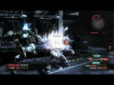 Vanquish - 2nd Demo Challenge Mode Gameplay [HD-720p]