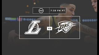 Lakers VS Thunder Pregame Live with DTLF!