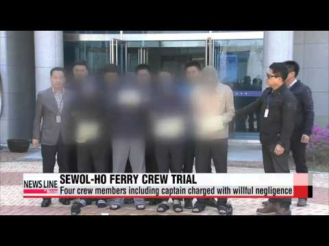 Trial for Sewol-ho ferry crew members to begin Tuesday