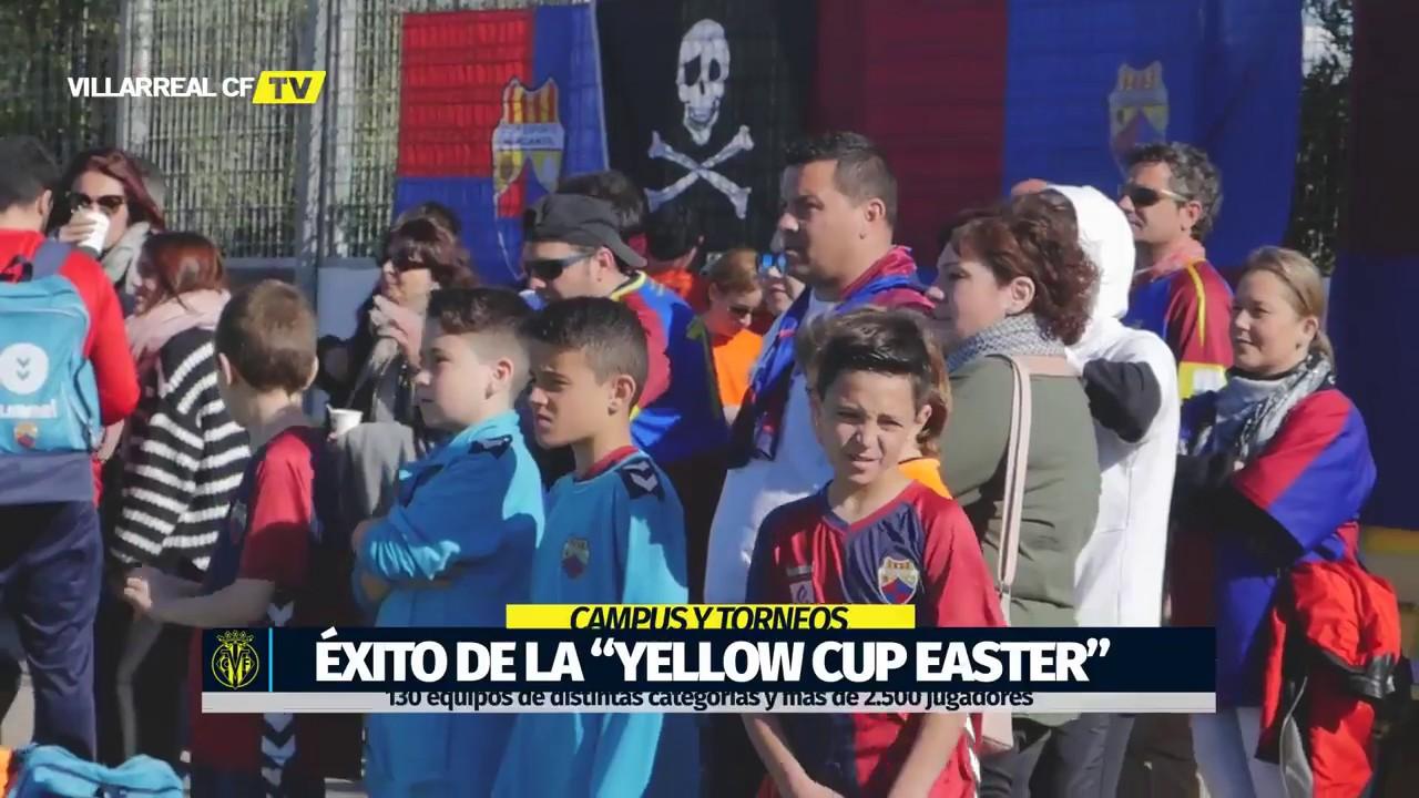 El mejor inicio para la Yellow Cup Easter | 2018