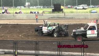 LLOYDMINSTER 2012 FULL SIZE TRUCKS DEMO DERBY maxwellsworld