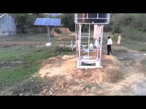 Solar Power Dual pumping project ...Rural Drinking water by