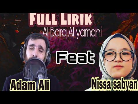 nissa-sabyan-feat-adam-ali-terbaru-|-full-lirik-al-barq-al-yamani