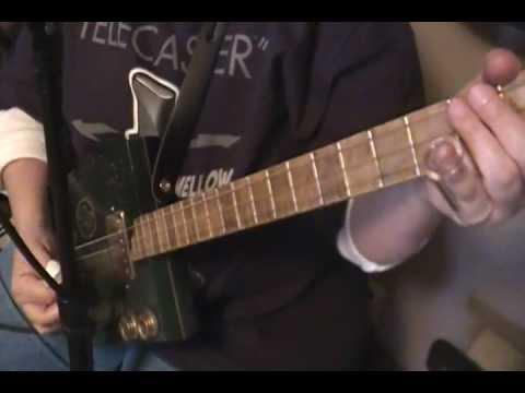 hangman's coming-original song-cigar box guitar