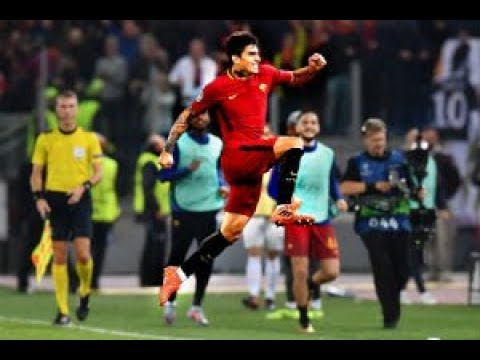 Roma 3-0 Chelsea - Gol Perotti commento Radio Rai, Pardo, Roma Radio, Curva SUD