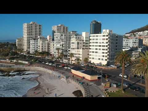 Drone Footage, Sea Point, Cape Town