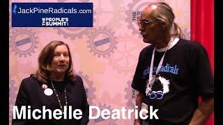 Michelle Deatrick Washtenaw County Commissioner, Michigan - JPR Interview