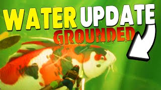 GROUNDED WATER UPDATE - New Enemies Are Coming! Koi Fish Bees New Spiders Overview of Future Update