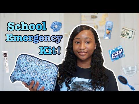 BACK TO SCHOOL EMERGENCY KIT 2020