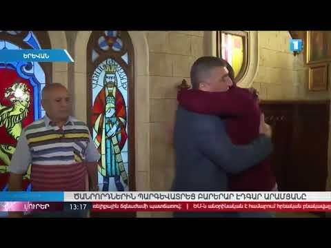 Эдгар Русланович награждает чемпиона мира