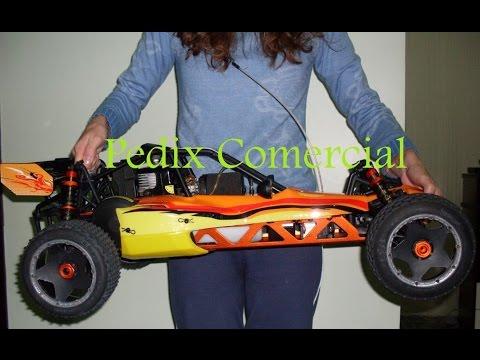 Incrivel Potencia Rc Car 1 5 Rovan Hpi Baja 26cc 29cc 30 5cc