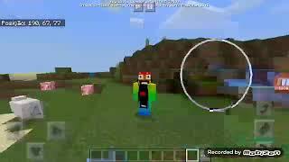 Jogando minecraft ( Lucky block e mod heróis)