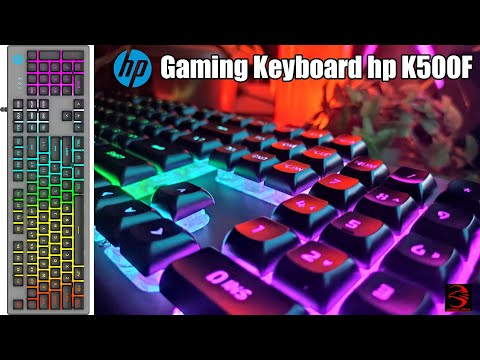 HP Gaming Keyboard K500F || Unboxing || Review || Mobius Arch 🔥🔥