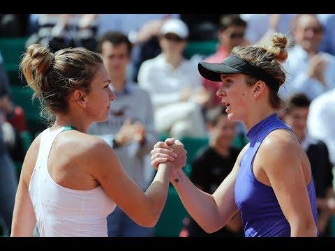 2017 Roland Garros Quarterfinals   Simona Halep vs Elina Svitolina   Highlights