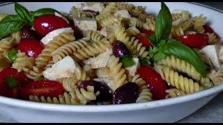 Caprese Pasta Salad - Gluten Free Recipe
