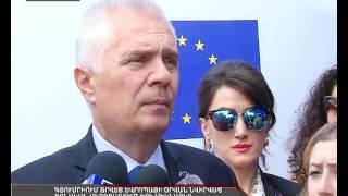 Գյումրիում տրվեց Եվրոպայի օրվան նվիրված տոնական միջոցառումների մեկնարկը