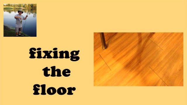 Vinyl Plank Flooring Fix Youtube