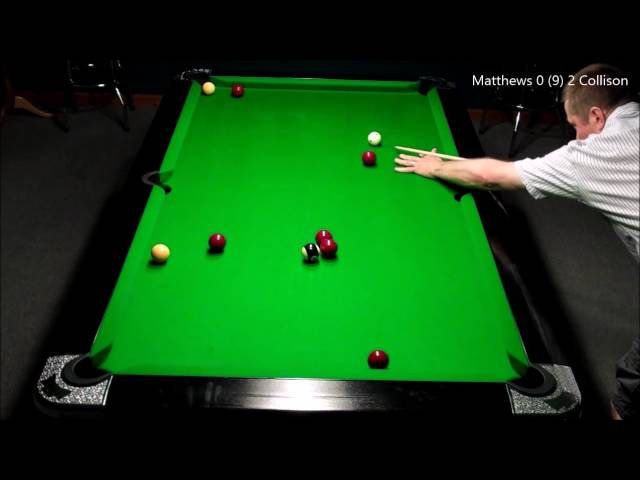 Clacton 8 Ball Pool League Cup Final 2016 - Darren Collison v Allan Matthews