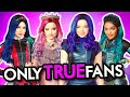 DESCENDANTS 3 Songs Quiz 🍎 Finish The Lyrics Challenge & More! 🍎 TRUE FANS ONLY ft Mal,Audrey,Evie
