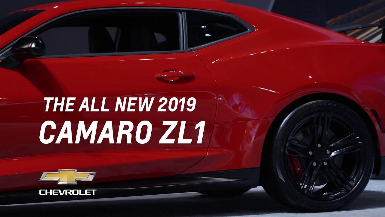 The 2018 Camaro Zl1 At Cias 2018 Chevrolet Canada Youtube