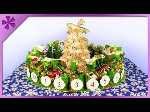 DIY How to make Advent calendar (ENG Subtitles) - Speed up #415