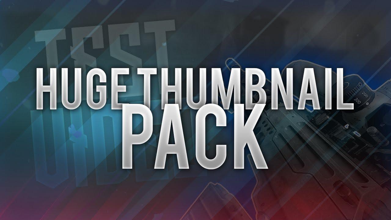 HUGE THUMBNAIL PACK (Bo1,Bo2,Bo3) (FREE DOWNLOAD)