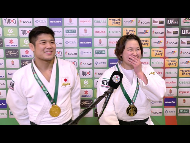 2021 #JudoWorlds Mixed Team - Japan