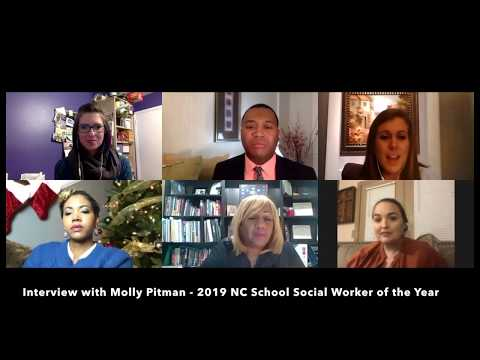 Tar Heel Teachers At Home: Interview With Molly Pitman (2019 NC School Social Worker Of The Year)