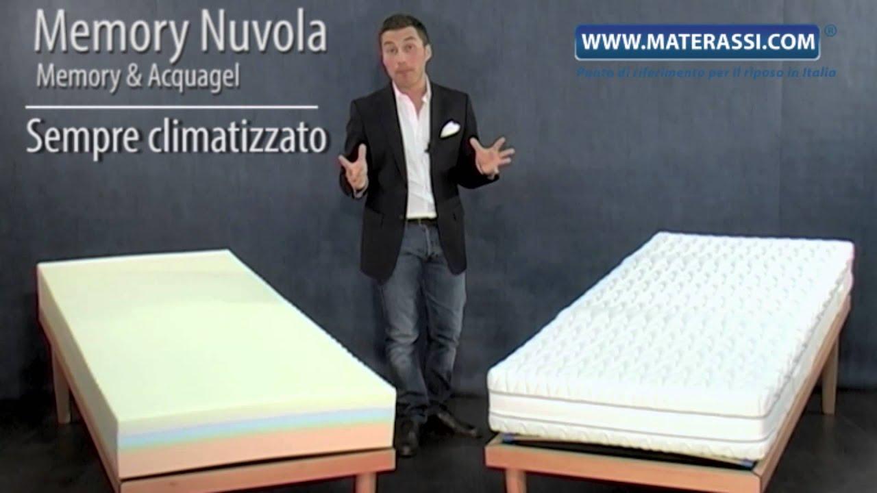 Materasso Memory Nuvola Onda - Materassi.com - YouTube