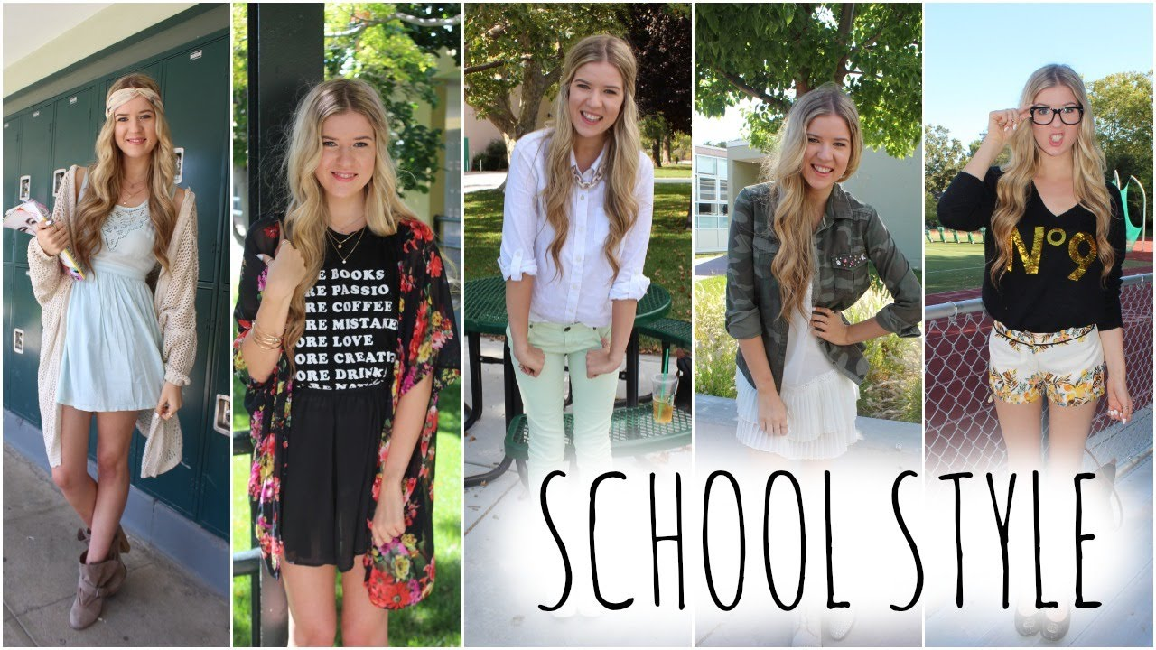b98d76782e Back to School Fashion  Outfits of the Week - YouTube