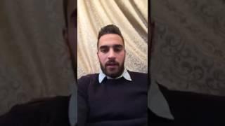 النجم السوري مارديك مارديكيان يعايد سورية والشعب الأرمني ومتابعين صفحتنا