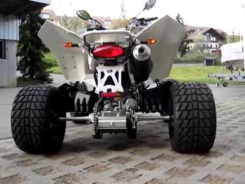 Suzuki LTZ 400 - YouTube