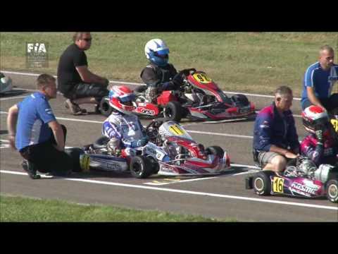 CIK FIA EUROPEAN CHAMPIONSHIP 2016 ROUND 3 KZ FINAL