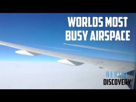 Flying Through The Worlds Busiest Airspace - Truly Amazing