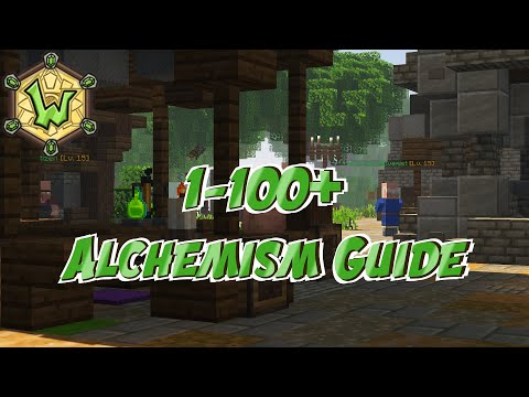 1 – 100+ Alchemism | Crafting Ingredient Guide | Wynncraft | Profession Guide