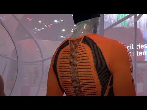 ISPO Close ups 23: X-Bionic Shirts mit Thermosyphon Technology