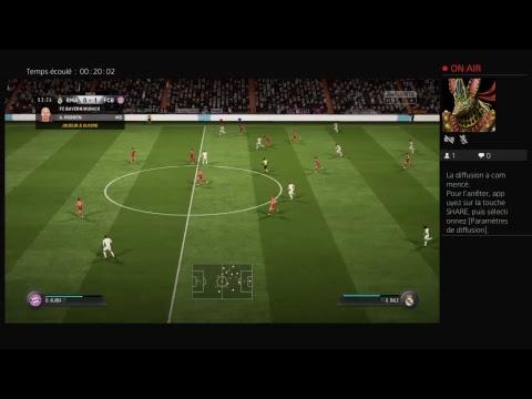 Live 1vs1 contre mon zinc sur FIFA 18 qui va gagner ? :-)