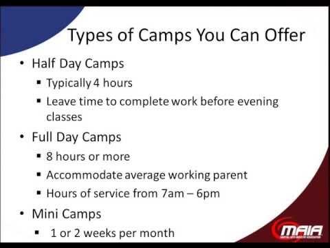 Successful Summer Camps Webinar