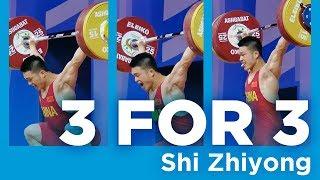 Shi Zhiyong | 3 for 3 - Snatch